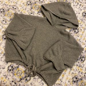 Women's cropped hoodie size extra small